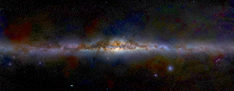 Milky Way on edge