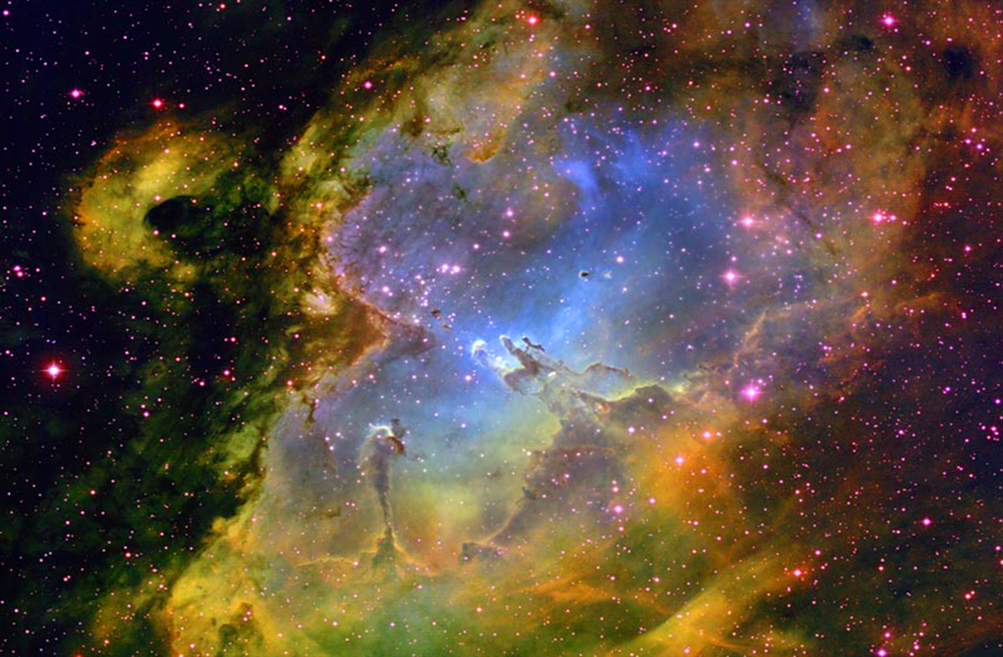 Universal mind - Hubble