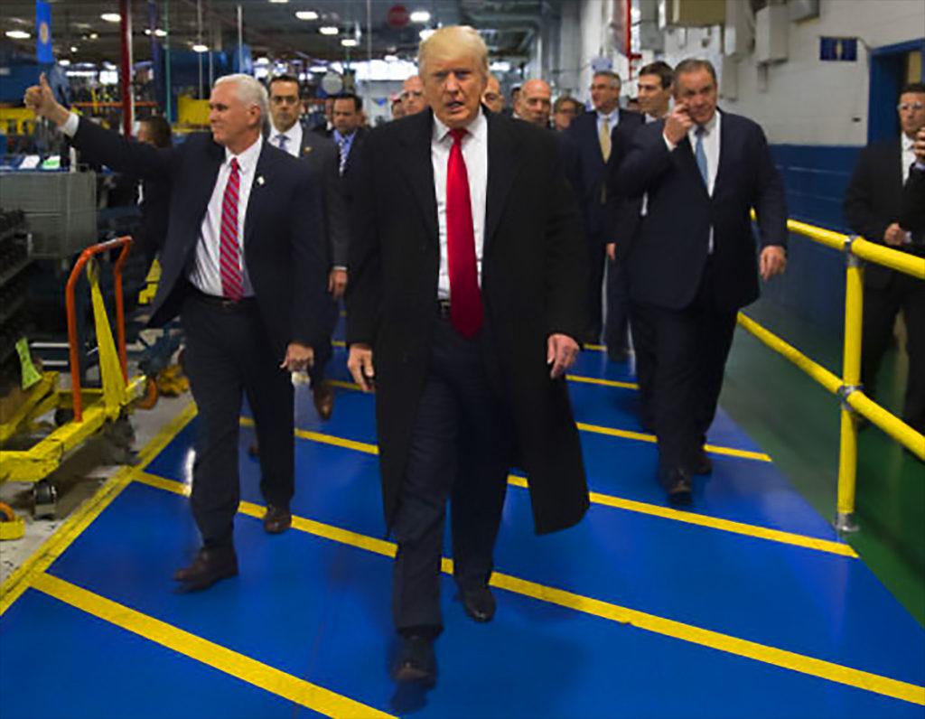 Donald Trump at Carrier