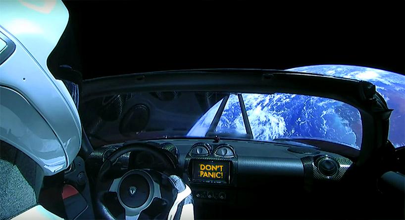 Tesla spaceman